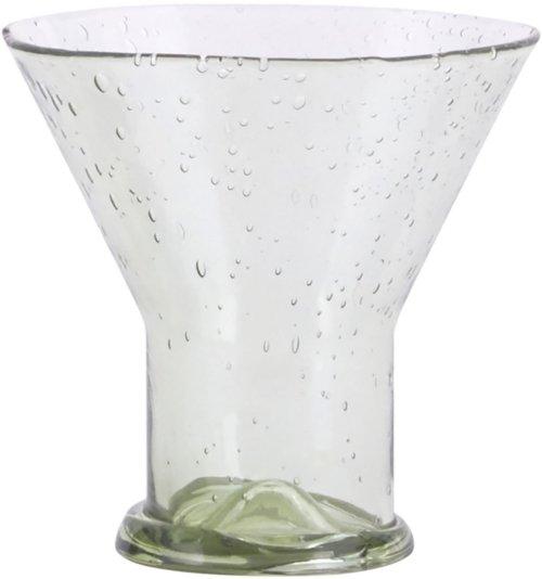 På billedet ser du variationen Bubble, Glas, Silo fra brandet House Doctor i en størrelse D: 10 cm. x H: 9,8 cm. i farven Lysegrøn
