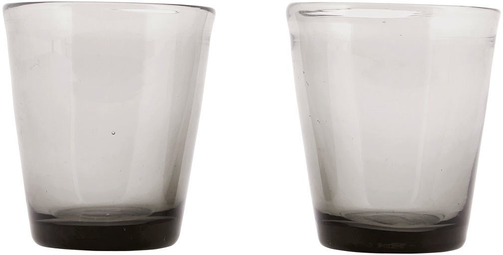 Image of   Houston, Glas by House Doctor (D: 8 cm. x H: 9 cm., Grå)