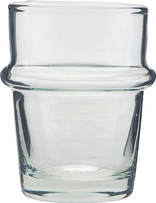 På billedet ser du variationen Glas, Tea fra brandet House Doctor i en størrelse D: 5,2 cm. H: 8 cm. i farven Klar