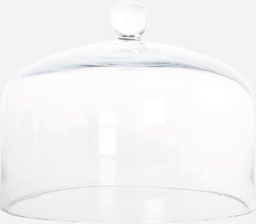 På billedet ser du variationen Glasklokke, Lakeside fra brandet House Doctor i en størrelse D: 20 cm. H: 16 cm. i farven Glas