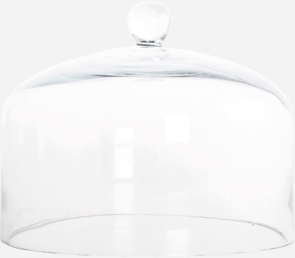 Image of   Glasklokke, Lakeside by House Doctor (D: 20 cm. H: 16 cm., Glas)