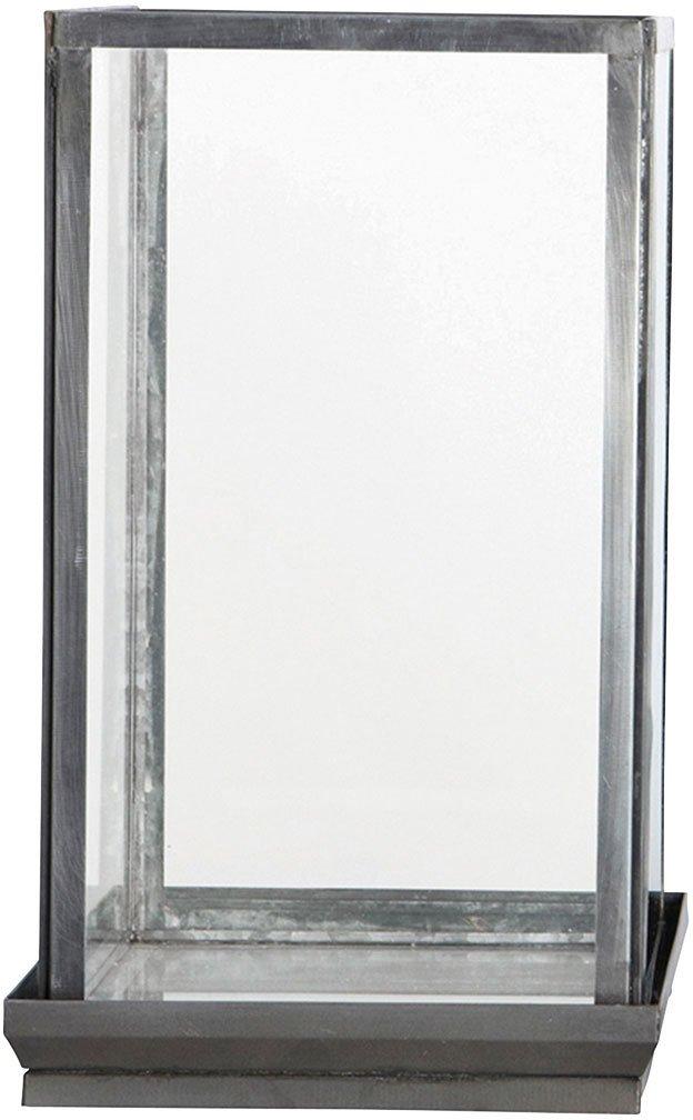Image of   Glasmontre by House Doctor (19 x 19 cm. x H: 33 cm., Klar/Jern)