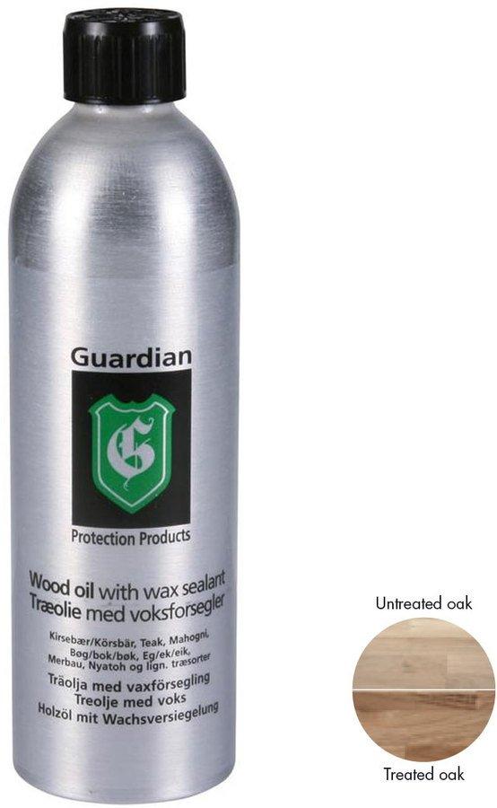Image of   Guardian Træolie med voksforsegler, 500 ml by Guardian Protection (500 ml., Natur)