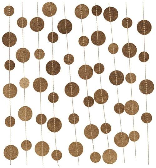 På billedet ser du variationen Guirlande, Dot fra brandet House Doctor i en størrelse L: 5 m. i farven Guld