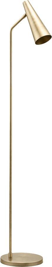 På billedet ser du variationen Gulvlampe, Precise, Messingfinish fra brandet House Doctor i en størrelse H: 124 cm. i farven Messing