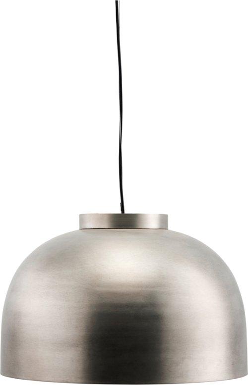 På billedet ser du variationen Hængelampe, Bowl, Gunmetal fra brandet House Doctor i en størrelse D: 50,2 cm. H: 33 cm. i farven Metal