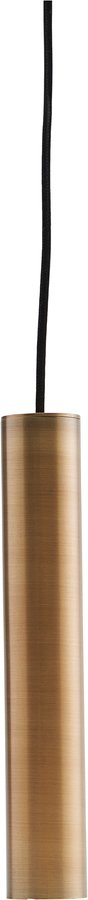 På billedet ser du variationen Hængelampe, Pin, Messing fra brandet House Doctor i en størrelse D: 5 cm. H: 30 cm. i farven Messing