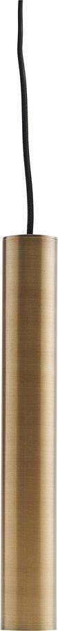På billedet ser du variationen Hængelampe, Pin, Messing fra brandet House Doctor i en størrelse D: 5 cm. H: 35 cm. i farven Messing