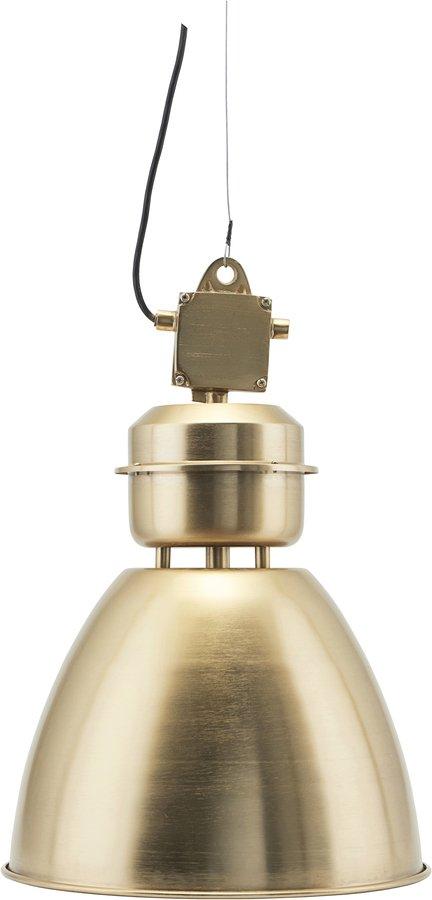 På billedet ser du variationen Hængelampe, Volumen fra brandet House Doctor i en størrelse D: 35 cm. i farven Messing