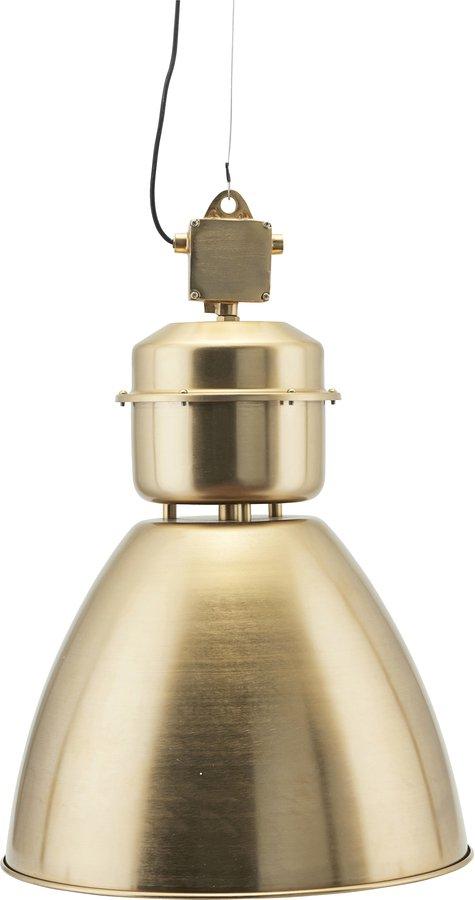 På billedet ser du variationen Hængelampe, Volumen fra brandet House Doctor i en størrelse D: 54 cm. H: 60 cm. i farven Messing