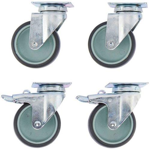 På billedet ser du variationen Hjul, Diy fra brandet House Doctor i en størrelse D: 7 cm. x H: 10 cm. i farven Grå