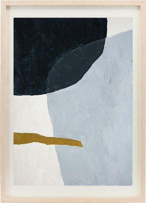 På billedet ser du variationen Illustration m. ramme, Artistic fra brandet House Doctor i en størrelse H: 70 cm. B: 50 cm. i farven Natur