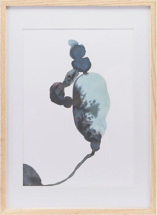 På billedet ser du variationen Illustration m. ramme, Climb fra brandet House Doctor i en størrelse H: 55 cm. B: 39,7 cm. i farven Natur