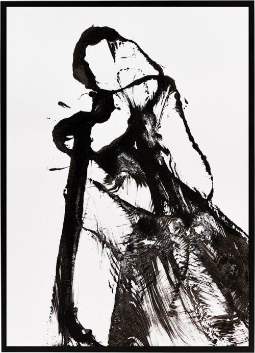 På billedet ser du variationen Illustration m. ramme, Opera fra brandet House Doctor i en størrelse B: 32 cm. L: 45 cm. i farven Sort/Hvid