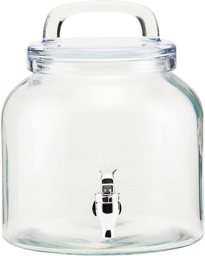 Juice/lemonade beholder, Ice Cold by House Doctor (D: 18,5 cm. H: 21 cm., Glas)