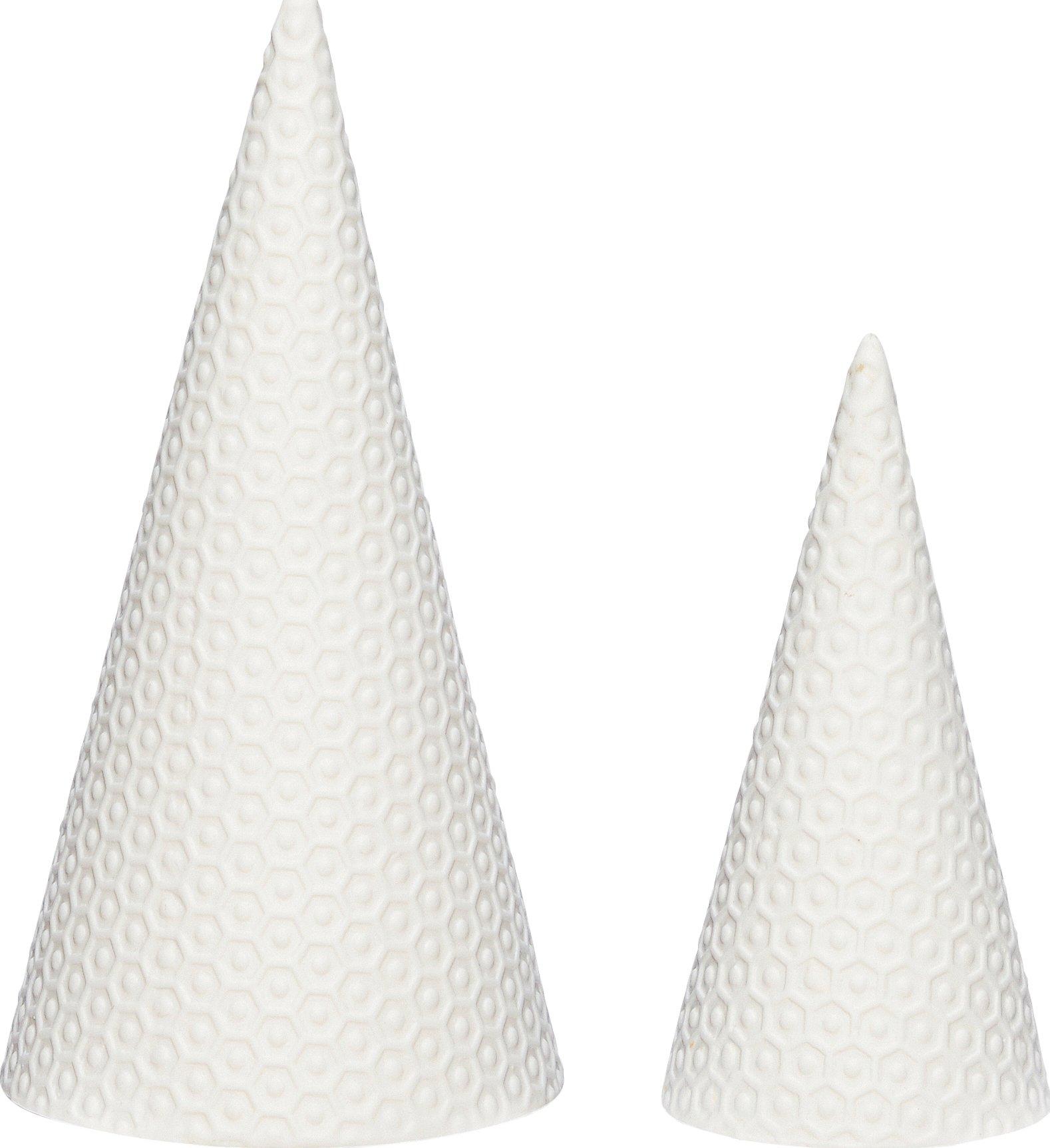 Image of   Juletræ, Wymond by Hübsch (Sæt á 2 stk., Hvid)