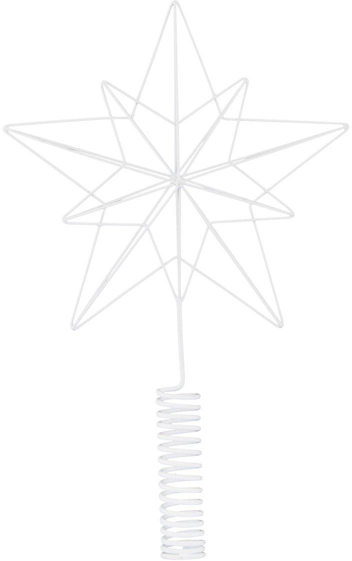 Image of   Juletræsstjerne, Wire by House Doctor (H: 22/36 cm., Hvid)