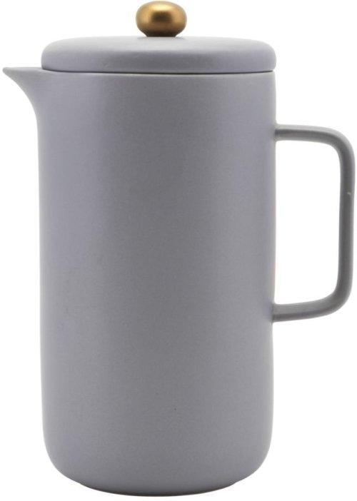 På billedet ser du variationen Kaffekande, Pot fra brandet House Doctor i en størrelse D: 10 cm. H: 20 cm. i farven Grå