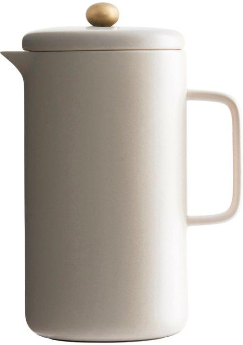 På billedet ser du variationen Pot, Kaffekande fra brandet House Doctor i en størrelse D: 10 cm. x H: 20 cm. i farven Creme