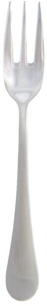 På billedet ser du variationen Brush, Kagegaffel fra brandet House Doctor i en størrelse L: 15 cm. i farven Stål