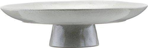 På billedet ser du variationen Kagetallerken, Nurture fra brandet House Doctor i en størrelse D: 32 cm. H: 8,3 cm. i farven Grå/Blå