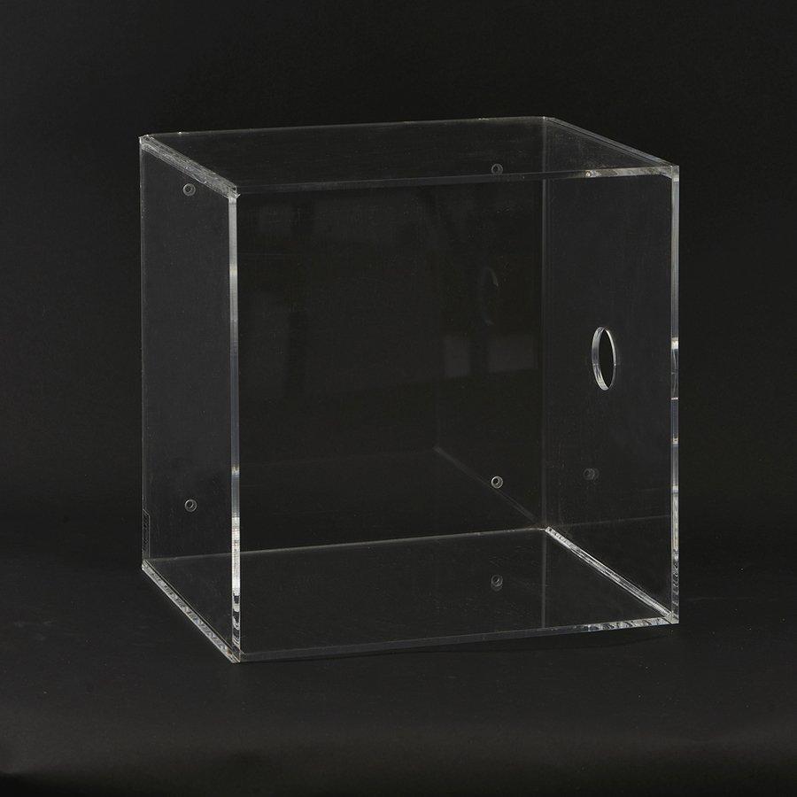 Image of   Kasse til ophæng by House Doctor (H: 30 cm. x L: 30 cm. x B: 25 cm. (med hul), Klar)