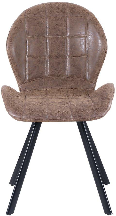 På billedet ser du Spisebordsstol, Kira fra brandet Preform i en størrelse H: 88 cm. B: 52 cm. L: 55 cm. i farven Brun/Sort