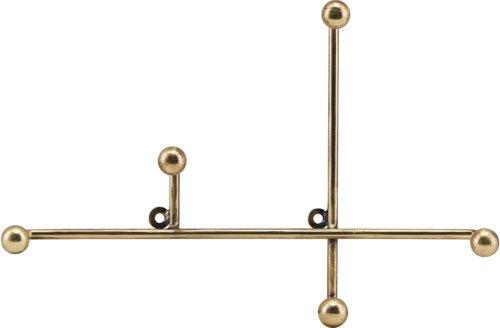 På billedet ser du variationen Knag, Prea fra brandet House Doctor i en størrelse H: 18 cm. B: 3,5 cm. L: 28 cm. i farven Messing