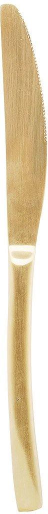 På billedet ser du variationen Elegant, Kniv fra brandet House Doctor i en størrelse L: 22 cm. i farven Guld