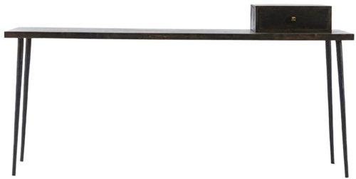 På billedet ser du variationen Konsol, Club, Black stain fra brandet House Doctor i en størrelse 180 x 45 cm. x H: 75 cm. i farven Mørkebrun