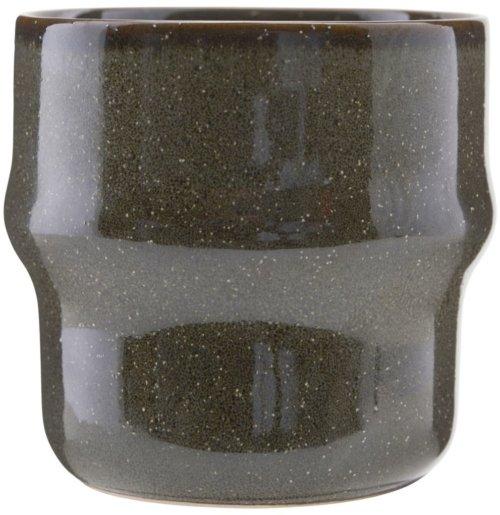 På billedet ser du variationen Krus, Lake fra brandet House Doctor i en størrelse D: 8,3 cm. H: 8,3 cm. i farven Mørkegrøn