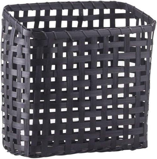 På billedet ser du variationen Kurv, Cube fra brandet House Doctor i en størrelse 12 x 25 cm. x H: 20/25 cm. i farven Sort