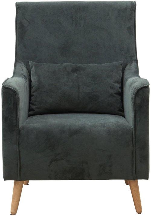 På billedet ser du variationen Lænestol, Chaz fra brandet House Doctor i en størrelse 68 x 82 cm. x H: 99 cm. i farven Belugagrøn