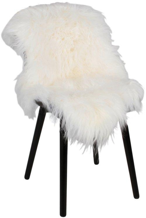 På billedet ser du variationen Lammeskind, Smooth tibetan fra brandet Preform i en størrelse B: 60 cm. L: 100 cm. i farven Hvid
