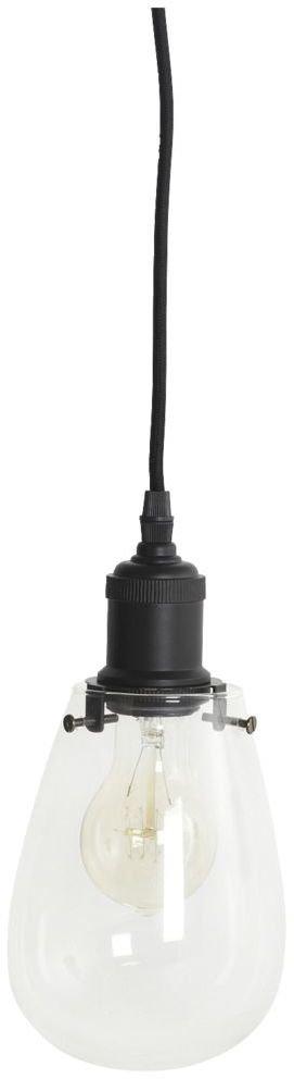 På billedet ser du variationen Drop, Lamp fra brandet House Doctor i en størrelse D: 20/13 cm. x H: 30 cm. i farven Klar