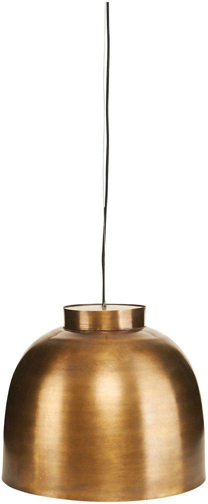 På billedet ser du variationen Lampe, Bowl fra brandet House Doctor i en størrelse D: 35 cm. x H: 26 cm. i farven Messing