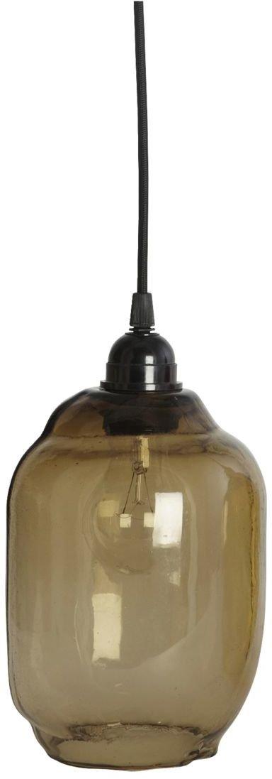 På billedet ser du variationen Lampeskærm, Goal fra brandet House Doctor i en størrelse D: 14 cm. x H: 20 cm. i farven Røg/Grå