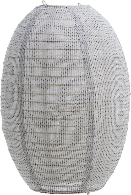 På billedet ser du variationen Lampeskærm, Stitch fra brandet House Doctor i en størrelse H: 40 cm. B: 30 cm. i farven Lysegrå
