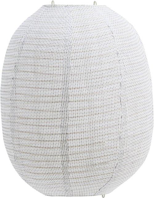 På billedet ser du variationen Lampeskærm, Stitch fra brandet House Doctor i en størrelse H: 50 cm. B: 40 cm. i farven Off-white