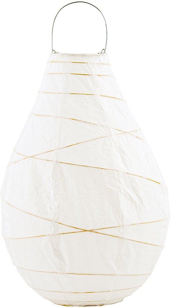 Image of   Drop, Lanterne by House Doctor (D: 24 cm. x H: 35 cm., Hvid)