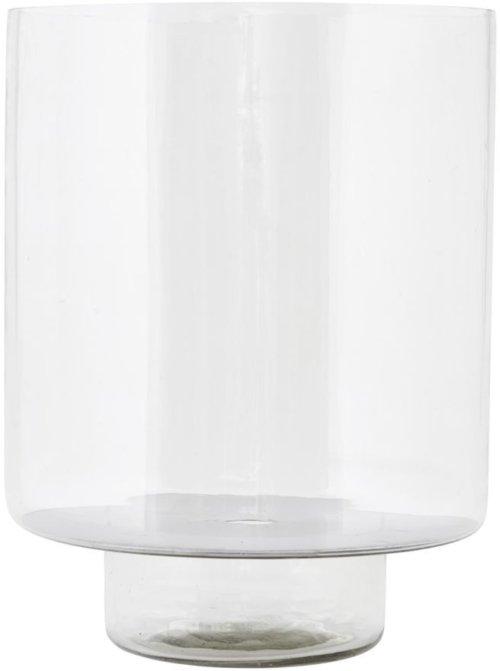 På billedet ser du variationen Glass, Lanterne fra brandet House Doctor i en størrelse D: 26 cm. x H: 34 cm. i farven Klar