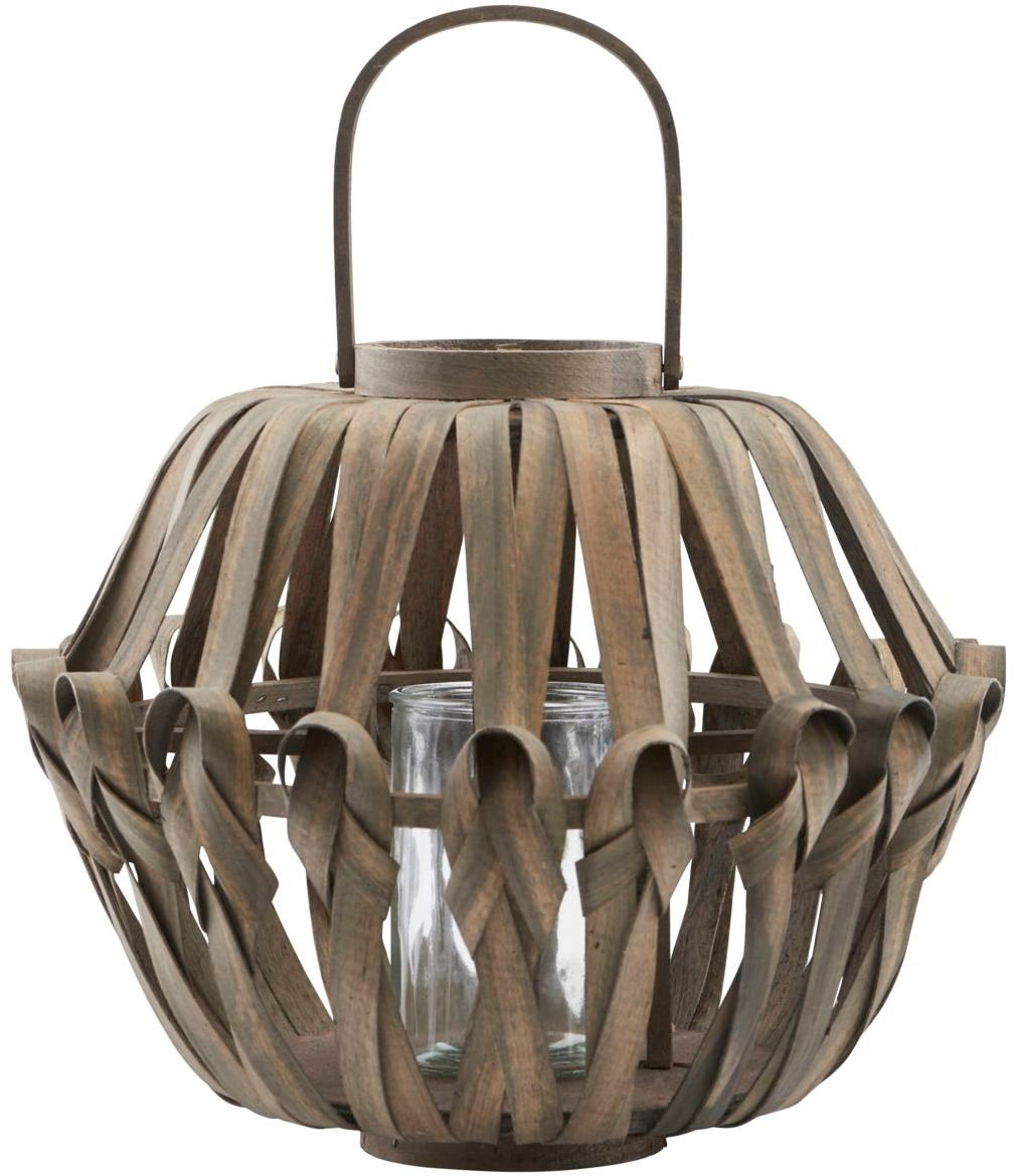 Lanterne, Knots, Middle by House Doctor (Ø: 38 cm. H: 31 cm., Mørk Natur)