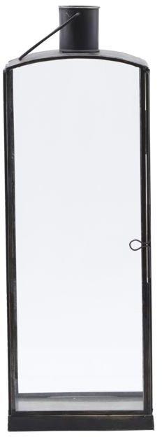 På billedet ser du variationen Lanterne, Origi fra brandet House Doctor i en størrelse H: 47 cm. B: 11 cm. L: 16,5 cm. i farven Sort