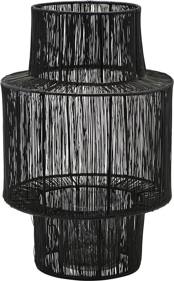Lanterne, Tabia by House Doctor (D: 22 cm. H: 35 cm., Sort)