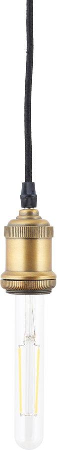 På billedet ser du variationen LED pære, Clear Decoration fra brandet House Doctor i en størrelse D: 2,5 cm. L: 16,5 cm. i farven Messing