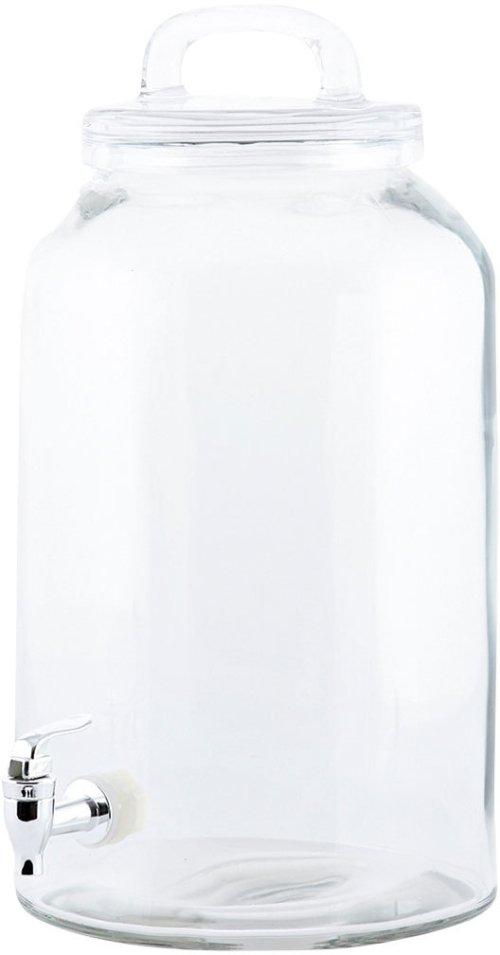 På billedet ser du variationen Icecold, Lemonadebeholder fra brandet House Doctor i en størrelse D: 20 cm. x H: 30/33 cm. i farven Klar
