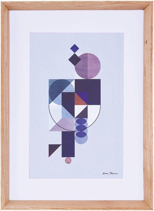 På billedet ser du variationen Lissa Thimm, One geo fra brandet House Doctor i en størrelse 55 x 40 cm. i farven Natur
