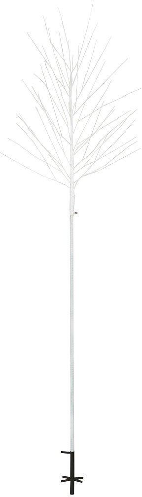 På billedet ser du variationen Lystræ, Light fra brandet House Doctor i en størrelse H: 215 cm. i farven Hvid