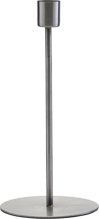 På billedet ser du variationen Lysestage, Anit, Jern fra brandet House Doctor i en størrelse D: 9,5 cm. H: 20 cm. i farven Jern