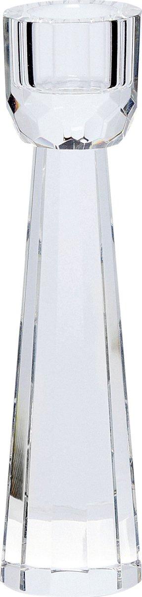 På billedet ser du variationen Lysestage, Ximena fra brandet Hübsch i en størrelse Ø: 4 cm. H: 15 cm. i farven Klar